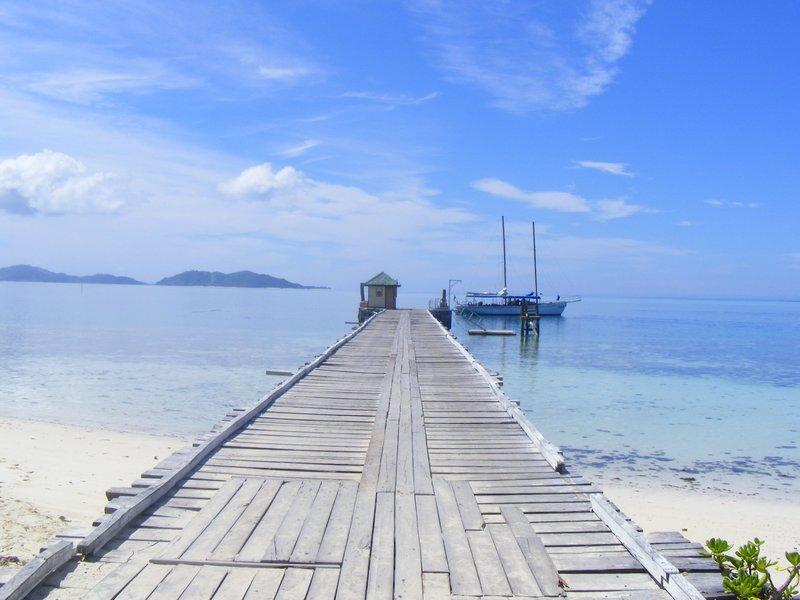 Mana Island Pier