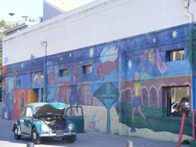Venice Beach Garage and Mural