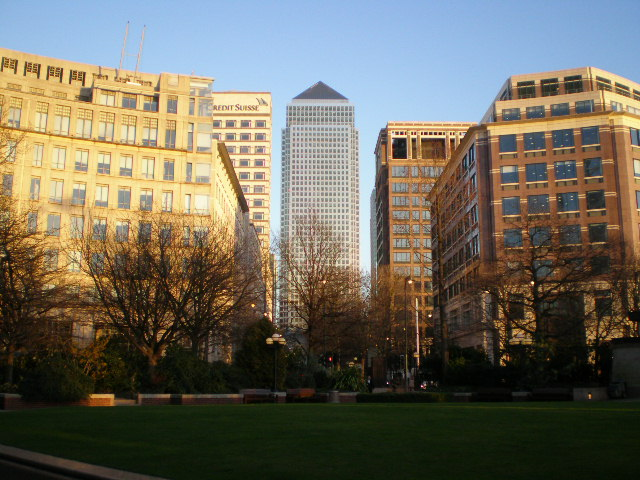 Welcome to Canary Wharf