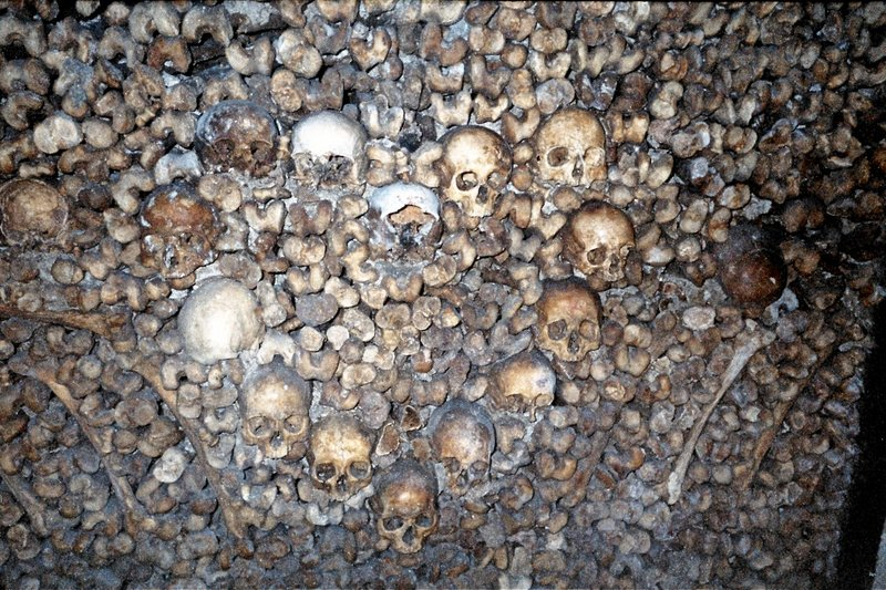 Paris - Catacombs
