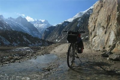 Cycling in the Himalayas