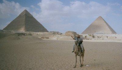 Ernest ON a pyramid