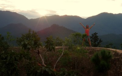 On top of the world in Pai