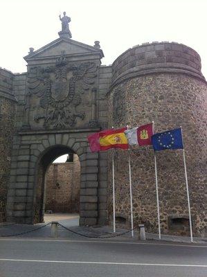 Entrance to Toledo