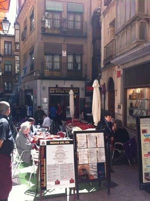 Toledo cafe