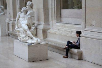 Louvre sketcher