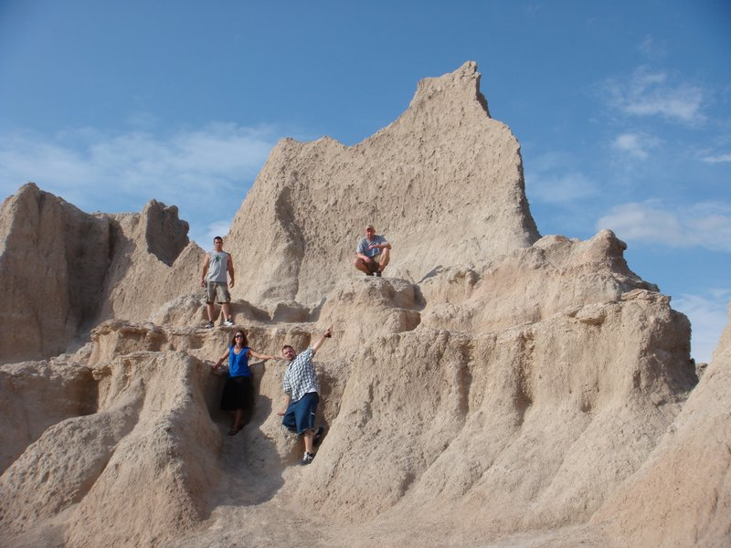 The Badlands...