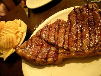food - first steak