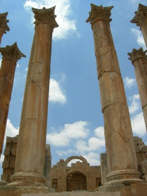 Jarash: temple of artemis