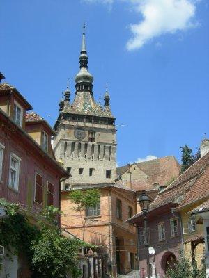 Sighi: clock tower