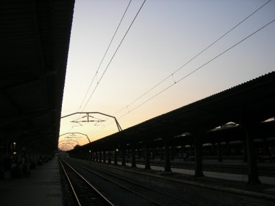 Bucharest: train station