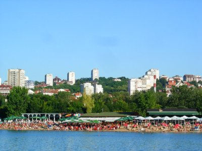 Belgrade: beach shores