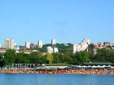 Belgrade: beach shores