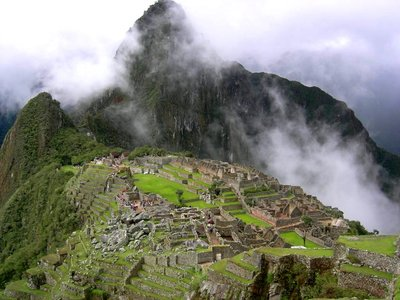 Machu Picchu: the View