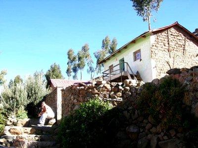 Puno- Amantani house