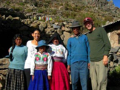 Puno- Amantani Family photo