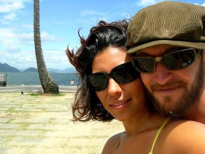 Rio De Janeiro: beach couple