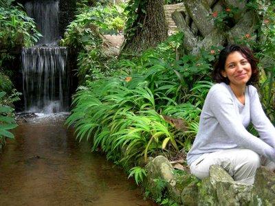 Rio De Janeiro: Marisa in the park