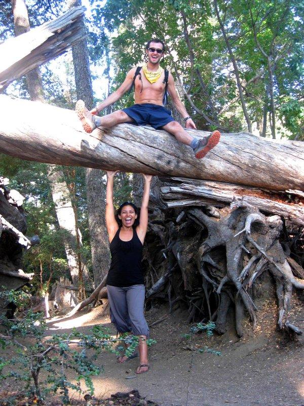 V.La Angostura: hikers