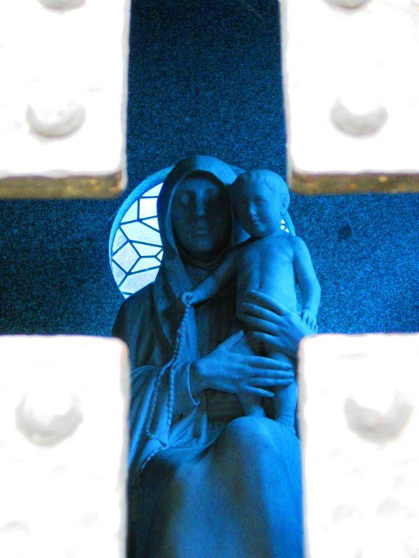 BA-Gur ricoleta cross with mary