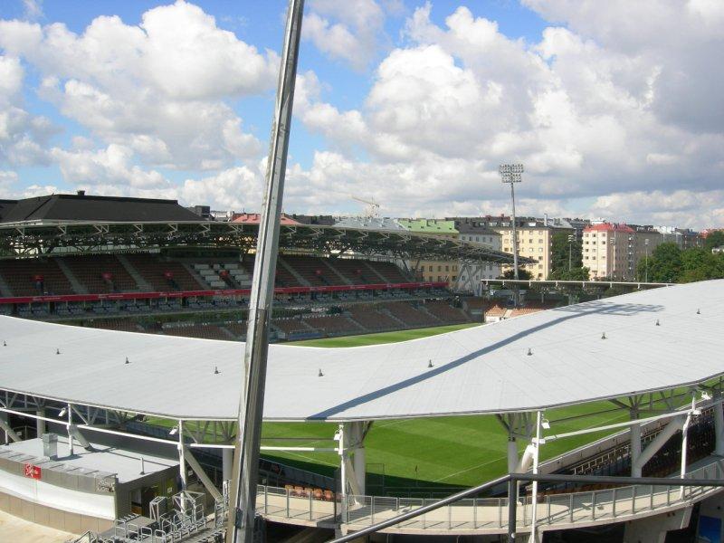 Helsinki: finn air stadium