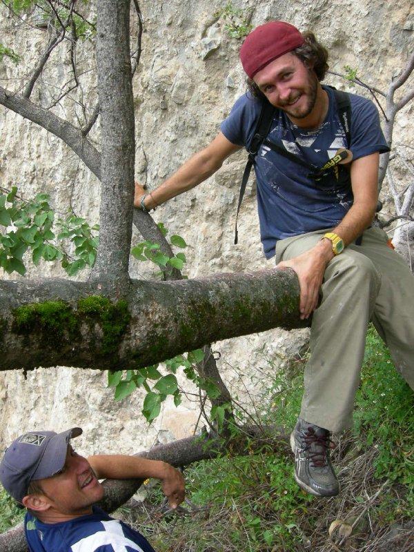 Climb: craig and i