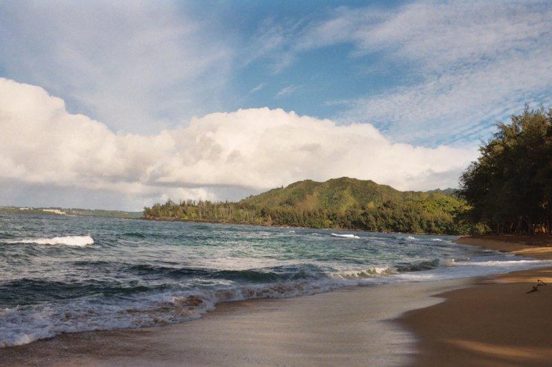 Kauai's Hanalei Beach