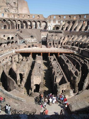 Inside Colloseum view