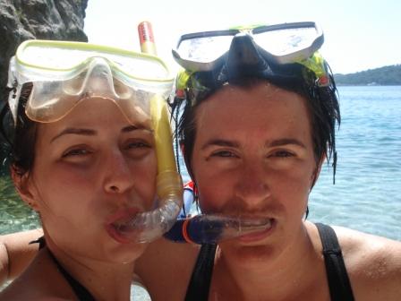 snorkel face