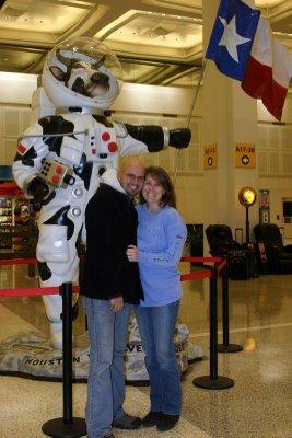 Cow astronaut