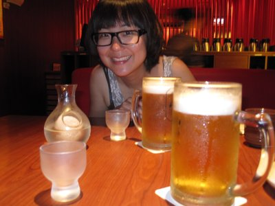 Sake and Beer with Jess