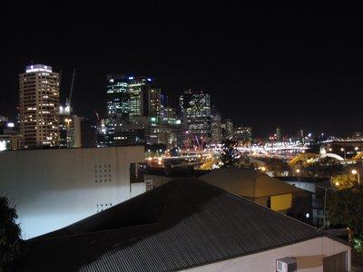 First Night in Brisbane