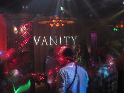 Vanity Again
