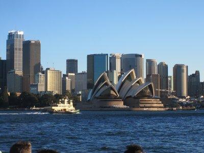 Opera House with Skyline