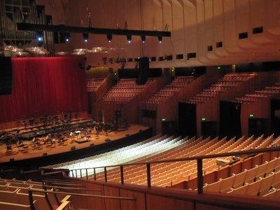 Inside the Opera House!