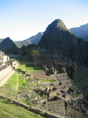 Maccu Picchu in the morning