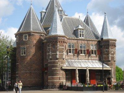 Nieuwmarkt in Amsterdam