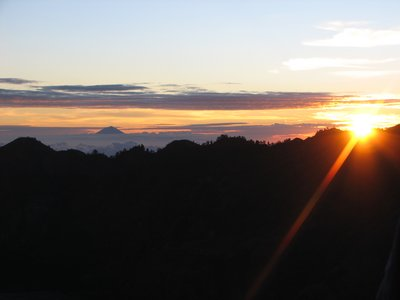 Sunset at Rinjani