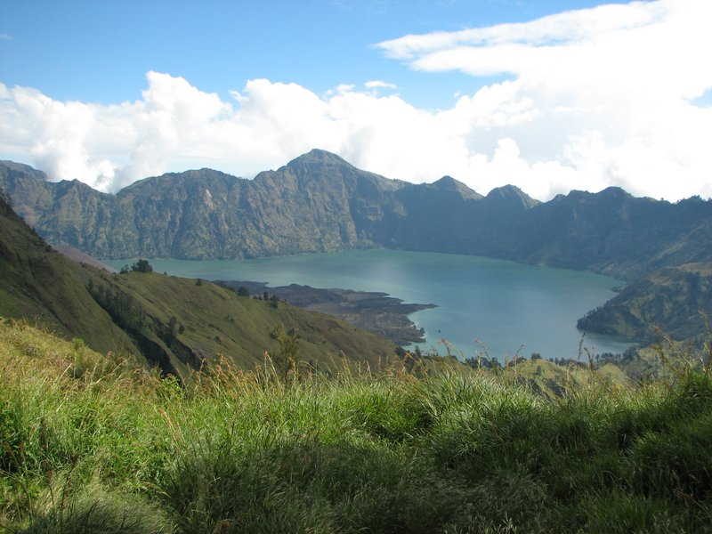 Segara Anak crater lake