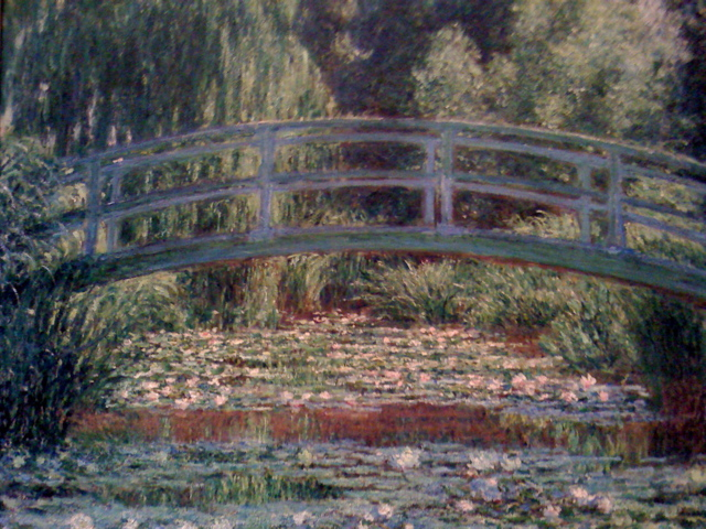 The Japanese Footbridge and the Water Lilly Pool, Giverny