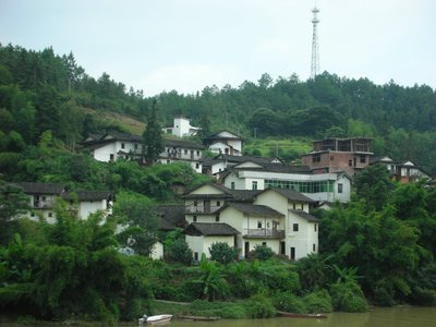 Buildings by the Jui Chu River