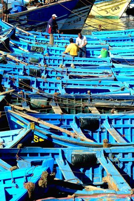Fishing boats, Essaouira, Morocco