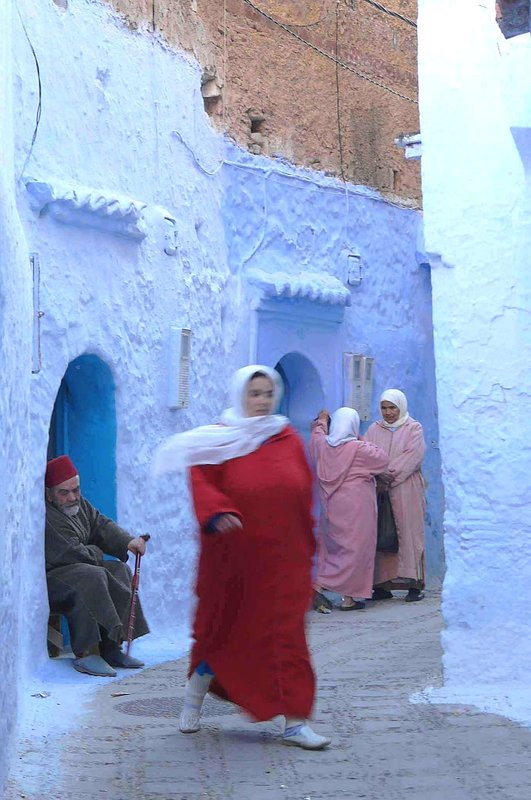 Whirlwind, Chefchaouen Morocco