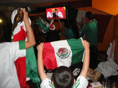 woo hoo!   Vamos Mexico!