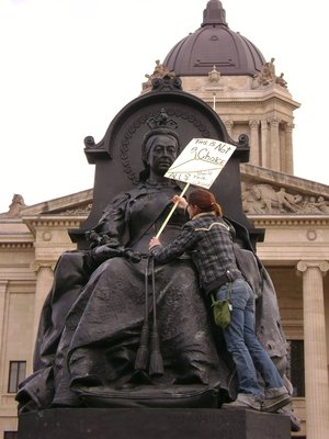 Queen Victoria loves women's rights