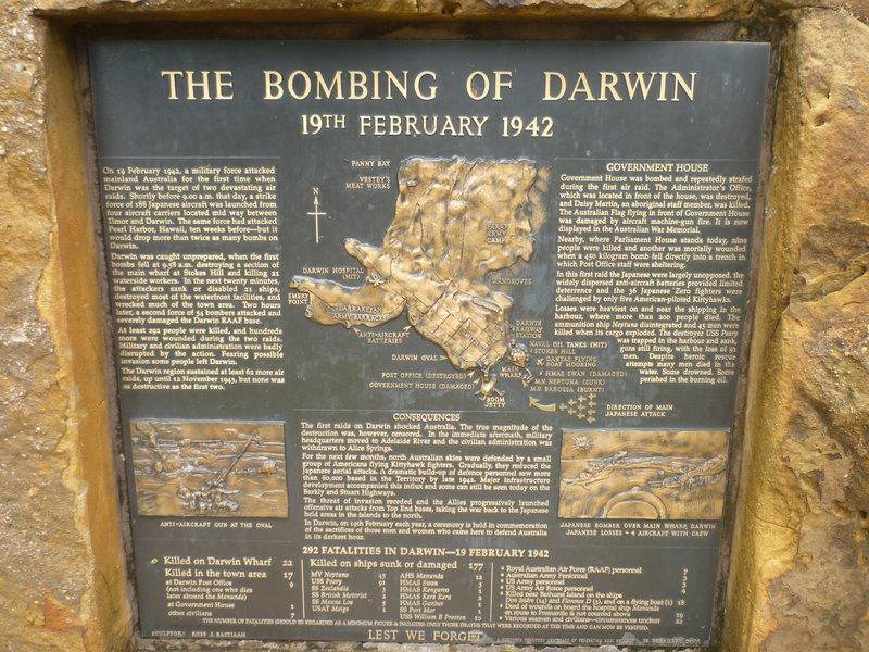 darwin bombing