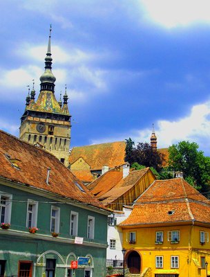 Citadel's Tower in Sighisoara