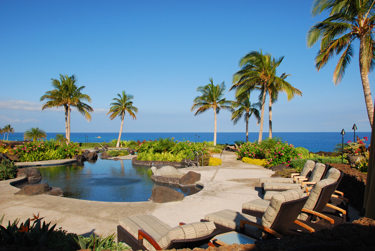 Halii Kai pool view