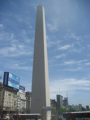 obelisco monument in Buenos Aires