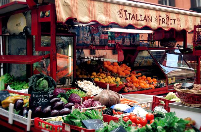 Italian Fruit Stand